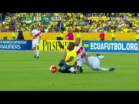 Equateur vs Pérou. Résumé du match. Qualifications coupe du monde 2018
