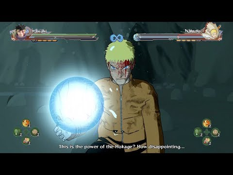 Kawaki vs Naruto Full Battle - Naruto Shippuden Ultimate Ninja Storm 4 Road to Boruto