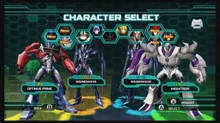 Transformers Prime The Game Wii U Multiplayer Brawl part 1