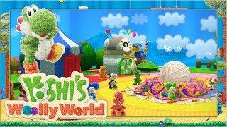 Das Wollatoll auf dem Bastelmeer #1 🧶 Yoshi's Woolly World | Let's Play Wii U