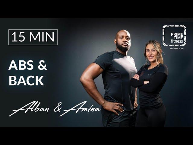 Abs & Back mit Alban & Amina - Training gegen Rückenschmerzen