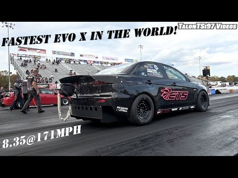 Fastest Evo X In The World New Record Wcf 2017