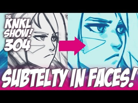 KNKL 304: How to draw and paint unique faces!