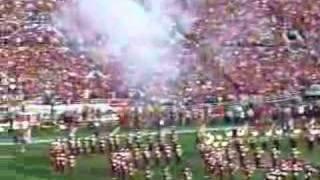 2008 rose bowl national anthem and flyover