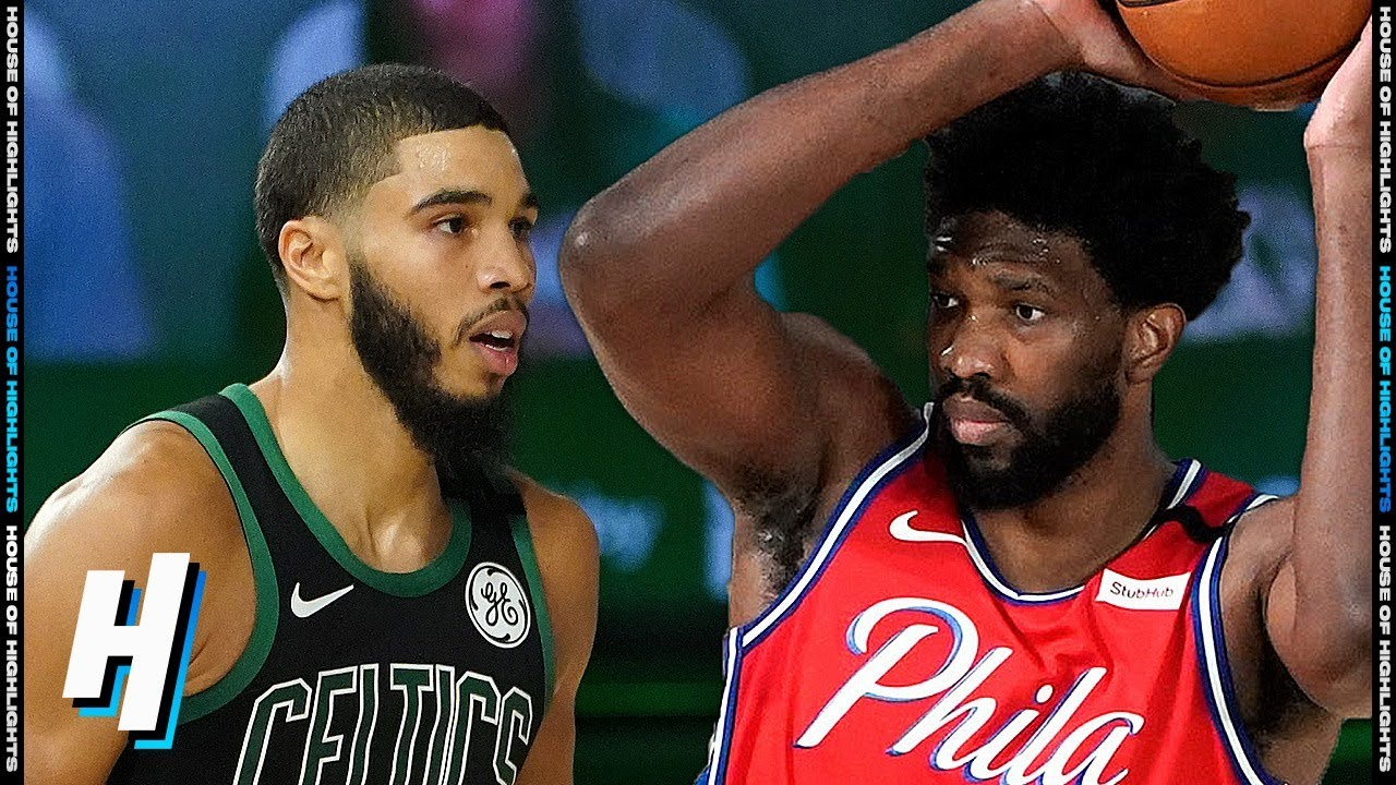 Philadelphia 76ers vs Boston Celtics - Full Game 1 Highlights | August 17, 2020
