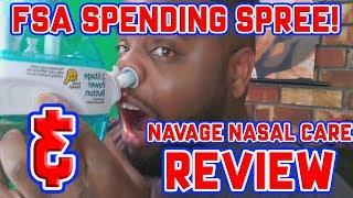 FSA SPENDING SPREE & NAVAGE REVIEW!
