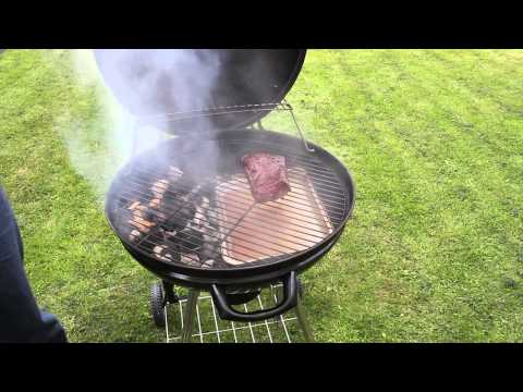 Indirect cooking on a BBQ