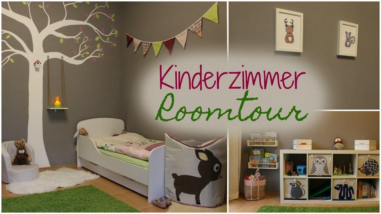Waldtiere Kinderzimmer ROOMTOUR 🦊| Babyschritte