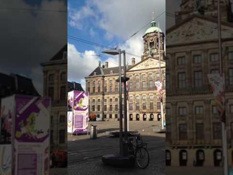 Amsterdam royal palace bells 2016 Wayne Clifton