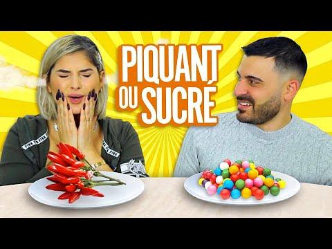 PIQUANT vs SUCRÉ CHALLENGE 🌶  (spicy vs sweet challenge)
