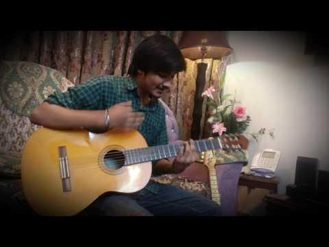 QADIDA - BARA LAJPAL ALI (Guitar cover by nabeel hassan)