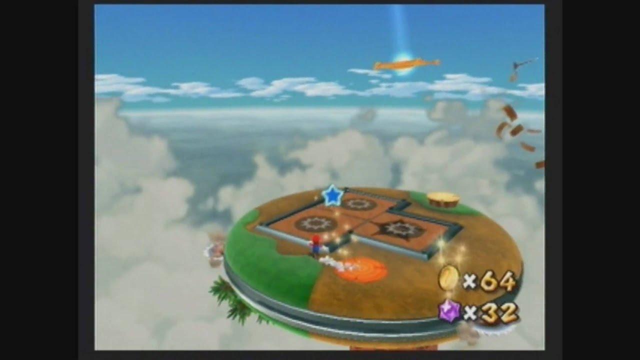 Super Mario Galaxy 2 - Puzzle Plank Galaxy secret star ...