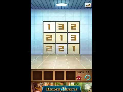 100 Floors Annex Level 25 Walkthrough Guide Youtube