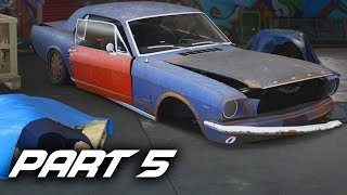 Need For Speed Payback Gameplay Walkthrough Part 5 - Ford Mustang 1965 Derelict Guide (ALL PARTS)