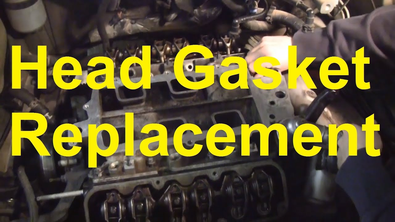 How To Replace The Head Gasket and Intake Manifold Gaskets On A GM 3800 Engine  YouTube