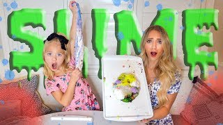 Making 10 Slimes in 10 Minutes!!! Learn How To Make Cloud Slime, Crunchy Slime, and Cereal Slime!!!