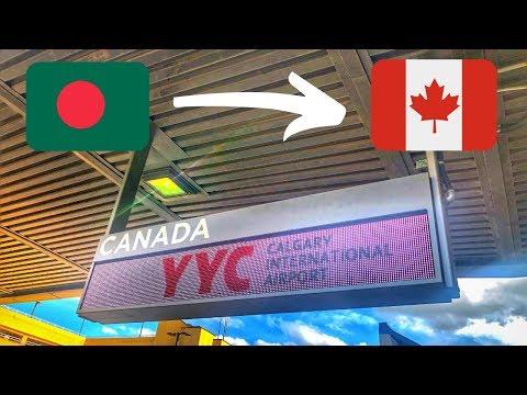Travel Vlog 10: BANGLADESH TO CANADA As Permanent Resident!