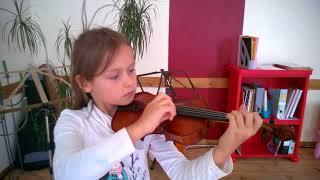 Первые уроки на скрипке. Как играть без скрипа! /erste Schritte