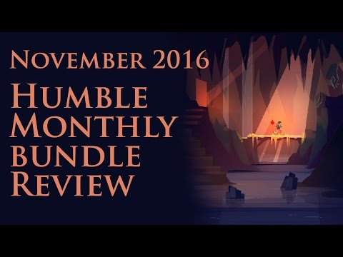 Humble Monthly November 2016 Review