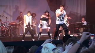 "Måns Zelmerlöw ""Cara Mia"" - live in Västerås June 26, 2009 - premiere of summer tour"