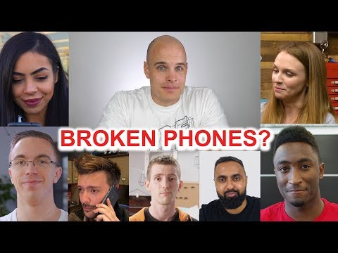 Which Tech YouTubers have broken a Phone?