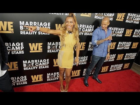 """Amina Buddafly and Peter Gunz """"Marriage Boot Camp: Reality Stars"""" Season 9 Premiere"""