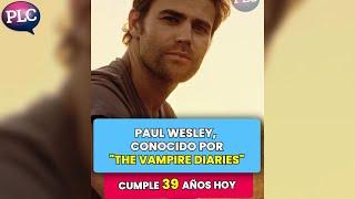 """¿Cuál es la vida de Paul Wesley después de """"The Vampire Diaries""""? #shorts"""
