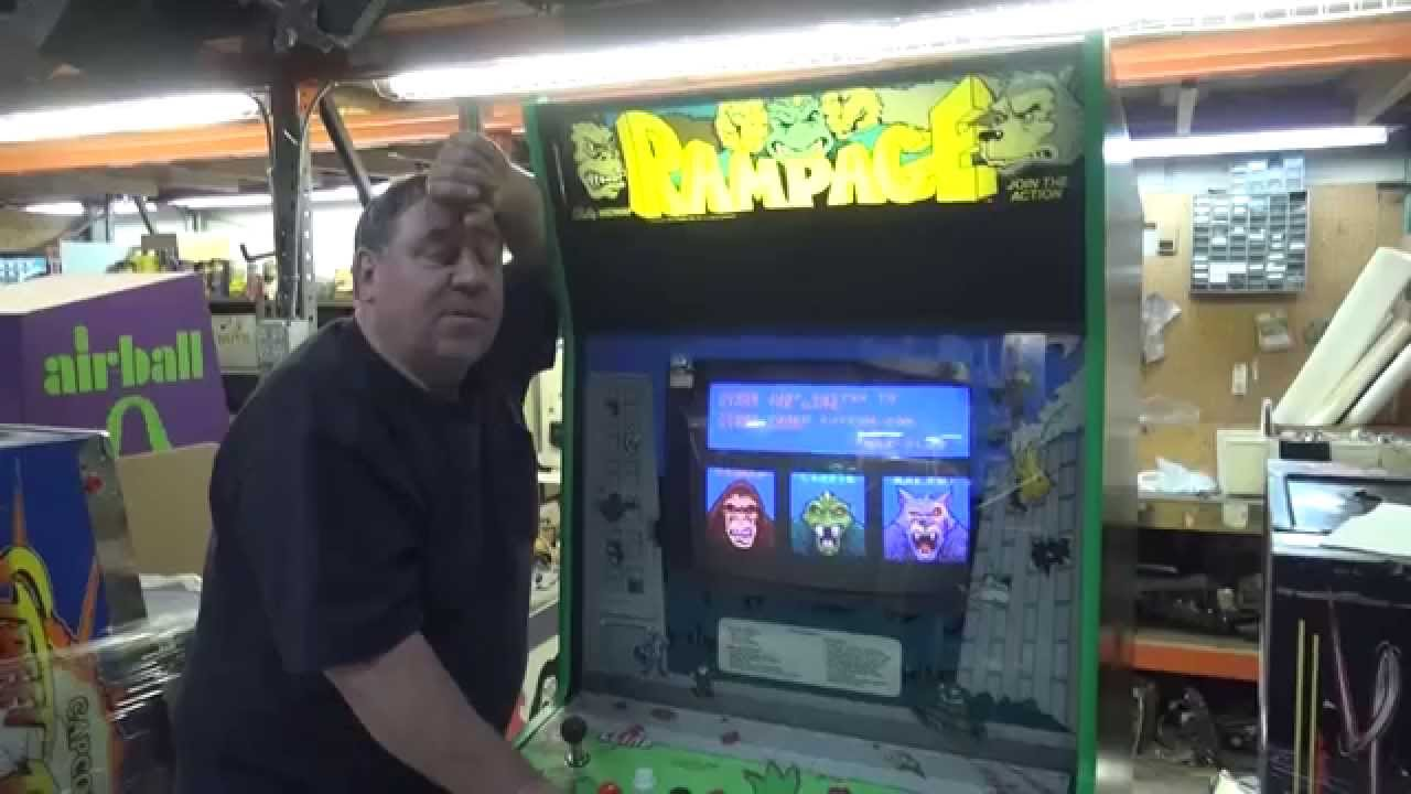 Rampage Videogame By Bally Midway