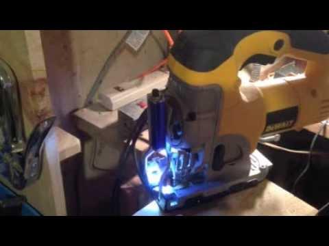 Dewalt jigsaw blade light youtube dewalt jigsaw blade light greentooth Image collections