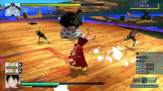 one piece unlimited world red main story quest master fishman karate playthrough