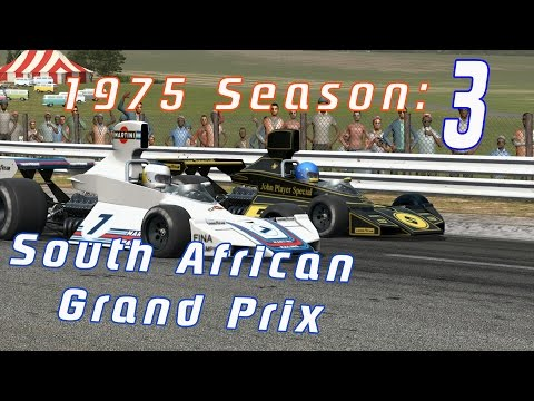 Fighting at the Front- South African GP 1975 -Automobilista