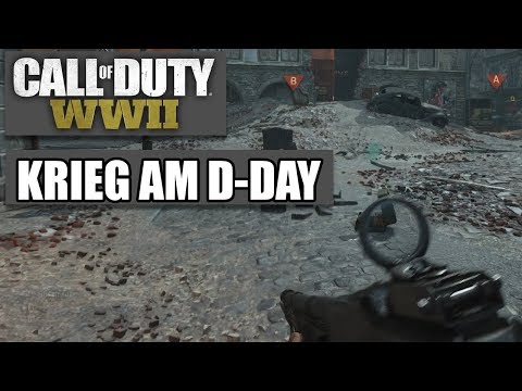 COD WWII Intern #02 - Krieg am D-Day - Call of Duty World War 2 MP