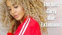 The Best Curly Hair Extensions
