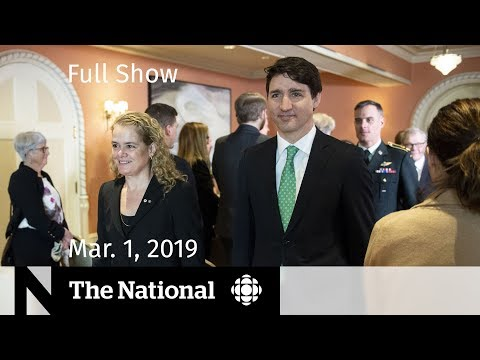 The National for, March 1, 2019