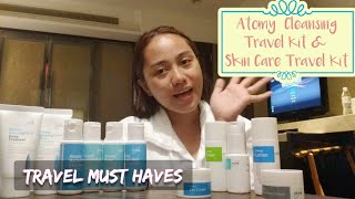 Atomy Cleansing & Skin Care Travel Kit Review & Quick Demo | Travel Must Haves