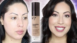 Beautifully Matte Boots No. 7 Foundation! Review & Wear Test!
