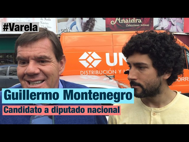 Montenegro timbreó en Varela con Alaniz y habló sobre su propuesta en seguridad