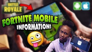 FORTNITE MOBILE HOW TO GET IT , HOW NOT TO GET IT, AND HOW TO SIGN UP!!!!