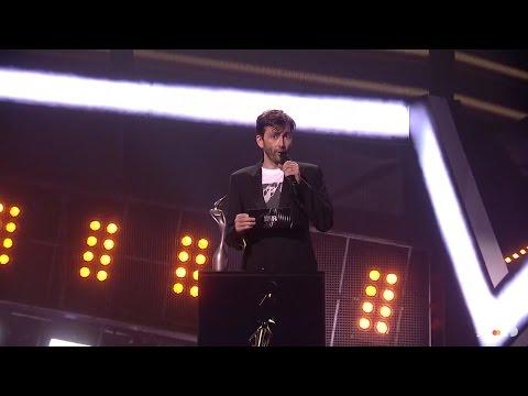 David Tennant Presenting At The BRITS