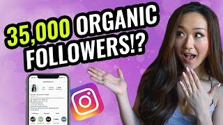 How I Gained 35,000 Followers ORGANICALLY (How the Instagram Algorithm REALLY Works)