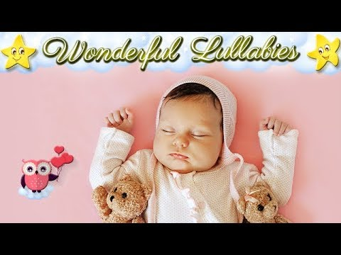 1 Hour Super Relaxing Baby Lullabies Collection ♥ Musicbox Bedtime Music ♫ Good Night Sweet Dreams
