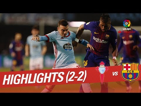 Resumen de RC Celta vs FC Barcelona (2-2)