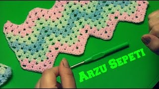 Kolay Bebek Battaniyesi Modeli ve Yapılışı
