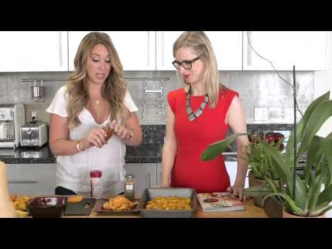 In The Kitchen: Haylie Duff Makes Butternut Squash