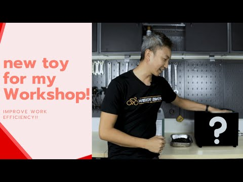 New Toy for my Bicycle Workshop! | Elevating my work efficiency thumbnail