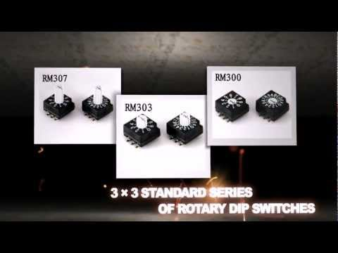 Plaimae Rotary DIP Switches