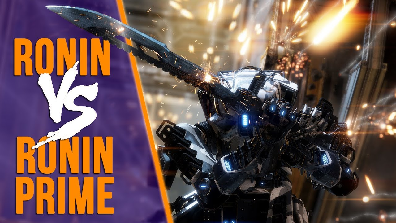 Titan Fall 2 Hd Wallpaper Titanfall 2 Ronin Prime Vs Ronin Comparison Youtube