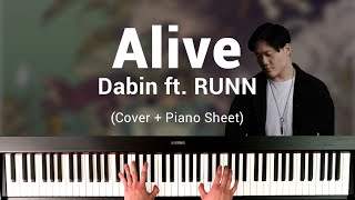 Dabin - Alive (ft. RUNN) Piano Cover & Sheet