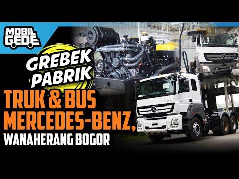 Pabrik Truk Dan Bus Mercedes-Benz Indonesia   MobilGede