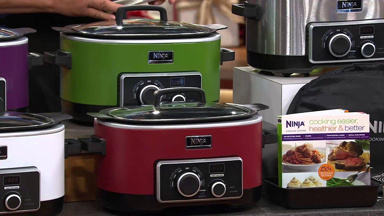 Ninja Cooking System Recipe Book